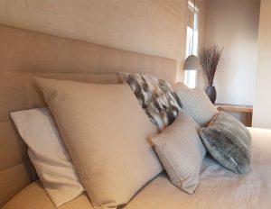 Projet de design intérieur d'une chambre à coucher effectué par Nathalie Rioux designer intérieur au Saguenay-Lac-st-Jean