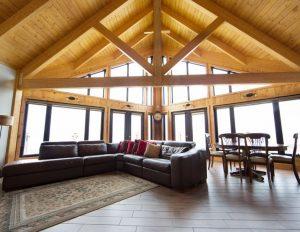 Projet de design intérieur d'une maison de campagne chic effectué fait par Nathalie Rioux designer intérieur au Saguenay-Lac-st-Jean